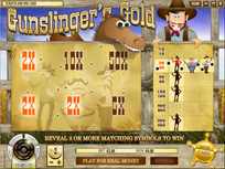 Scratch & Win: Gunslingers Gold