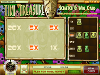 Scratch & Win: Tiki Treasure