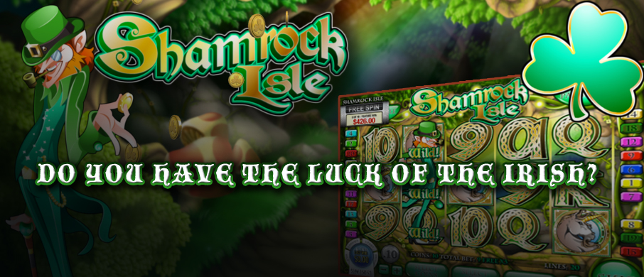 Shamrock Isle slot available for play on St Patrick's Day